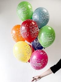 11 латексных шаров