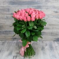 Розовые премиум розы