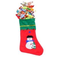 Новогодний носок с конфетами