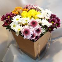 Коробка из хризантемы