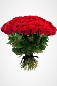 50 красных роз