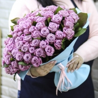 101 фиолетовая роза