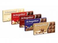 5 вкусных шоколадок schogetten
